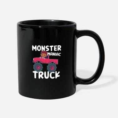 Meccanicamente Monster Maniac Truck Big Wheels Driver Girls Gift - Tazza