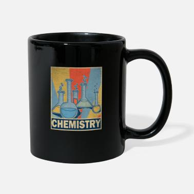 Teaching Chemistry Teacher Retro Vintage Gift Science - Full Colour Mug