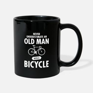Man Never Underestimate An Old Man With A Bicycle - Mok