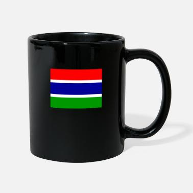 Gm Bandiera del Gambia (gm) - Tazza