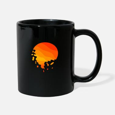 Melt Melting ball sun ball gift Abstract - Mug