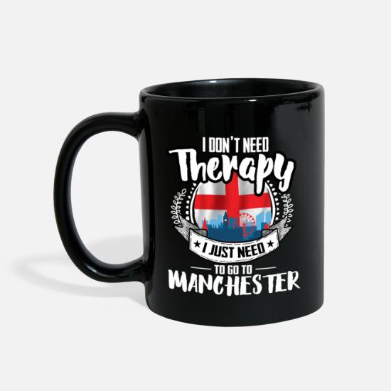 Manchester Mugs & Drinkware - Therapy Manchester - Mug black