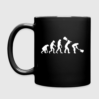 Evolution Rock - Taza de un color