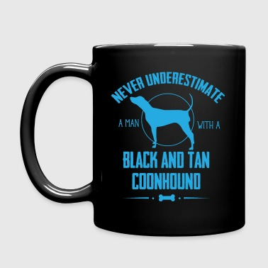 Dog Black and Tan Coonhound NUM - Full Colour Mug