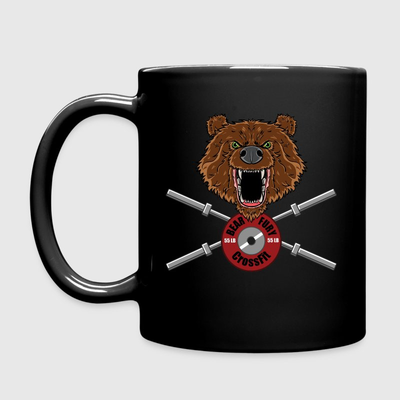 Bear Fury Crossfit - Full Colour Mug