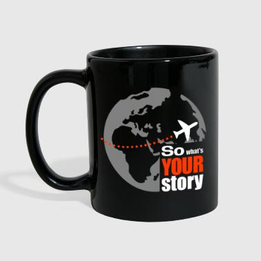 So what's your story - Taza de un color