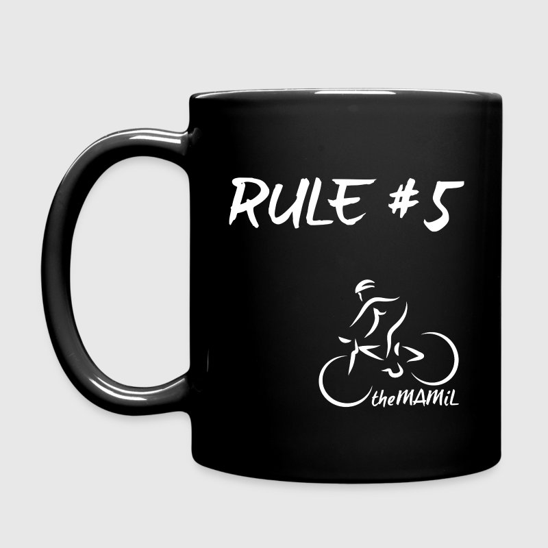 TheMAMIL Life begins at 40 (White transparent) - Full Colour Mug