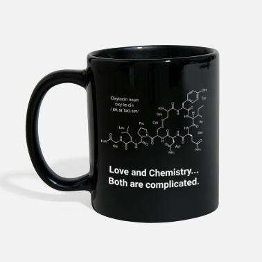 Hormone Oxytocin chemistry Complicated structure love - Mug