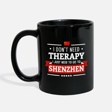 SHENZHEN THERAPY CHINA FLAG TRAVEL GIFT - Mug