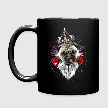 Mops - The King - Tasse einfarbig