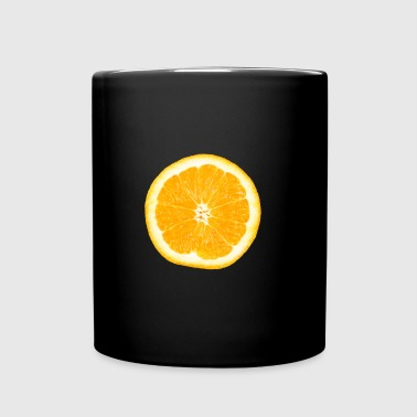 orange - Tasse en couleur