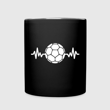 handball is life - Tasse einfarbig