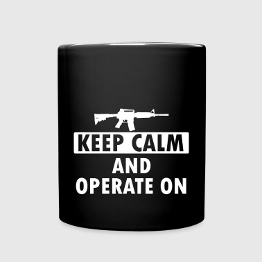 Keep Calm Operate on - Full Colour Mug