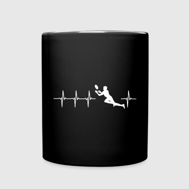 I love rugby (rugby heartbeat) - Full Colour Mug
