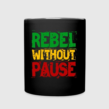 Rebelde sin pausa - Taza de un color