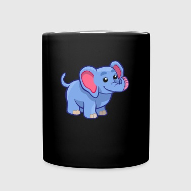 Sweet Elephant - T-Shirt Design - Full Colour Mug