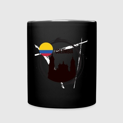 Colombia T-shirt - Tazza monocolore