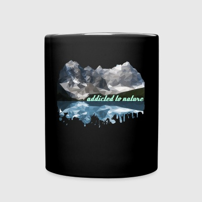 addicted to nature - Full Colour Mug