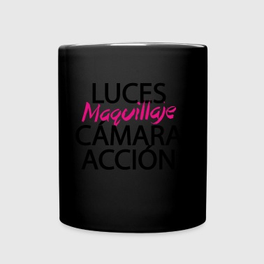 Make-up-Licht-Kamera-Aktion - Tasse einfarbig