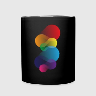 Abstraction colorée - Mug uni