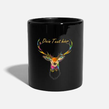 Collections Watercolor deer - Taza de un color