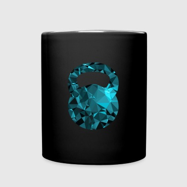 Kettlebell (Low Poly) - Full Colour Mug