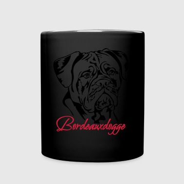 Dogue de Bordeaux - Tasse en couleur