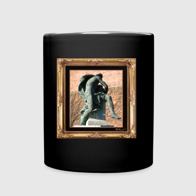Antique statue in a chic setting - Full Colour Mug