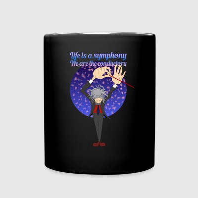 Life is a symphony (by FEDVAL) - Full Colour Mug