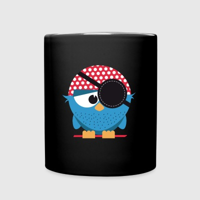 Birdie pirate - Full Colour Mug