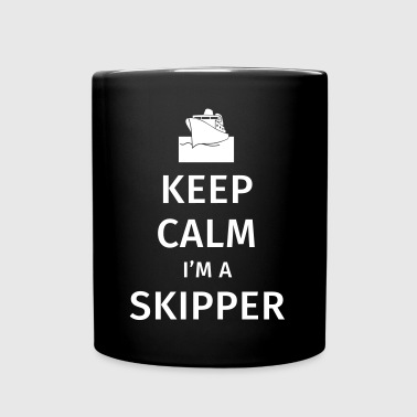 Keep Calm I'm a Skipper - Full Colour Mug