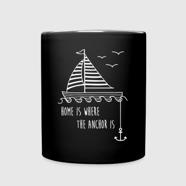 Sailboat - Full Colour Mug