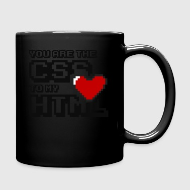 You are the css to my html - Kubek jednokolorowy