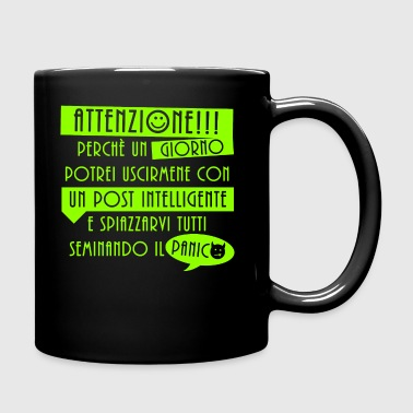 Un post intelligente - Tazza monocolore
