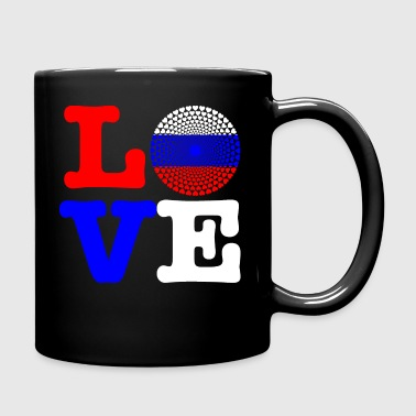 RUSSIA HEART - Full Colour Mug