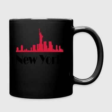 New york - Tazza monocolore