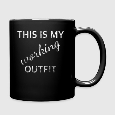 Outfit working - Full Colour Mug