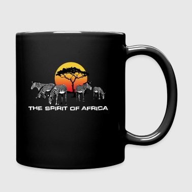 Spirito d'Africa Zebre Sunset Safari - Tazza monocolore