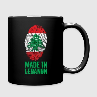 Made in Libanon / Made in Libanon اللبنانية - Enfärgad mugg