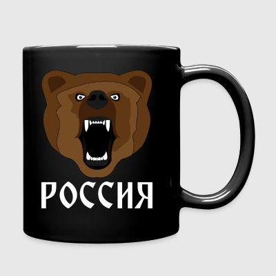 Russo Bear / Russia / Россия / Медвед - Tazza monocolore