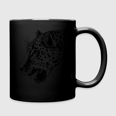 Leopard, leopard head - Full Colour Mug