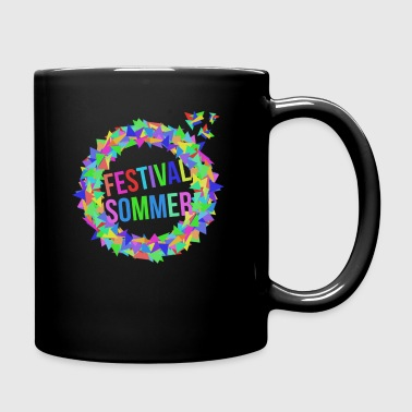 Festival Design without Shadow by ghost squad - Full Colour Mug