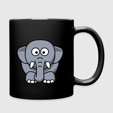 Elephant - Full Colour Mug