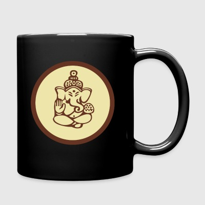 Ganesha Om Yoga India Dio Elephant - Tazza monocolore