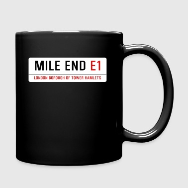 Mile End Street Sign - Full Colour Mug