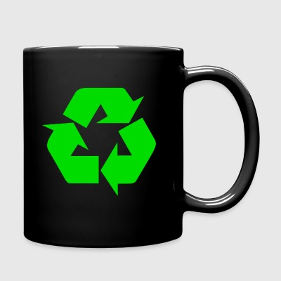 Earth Day Recycle - Tasse en couleur