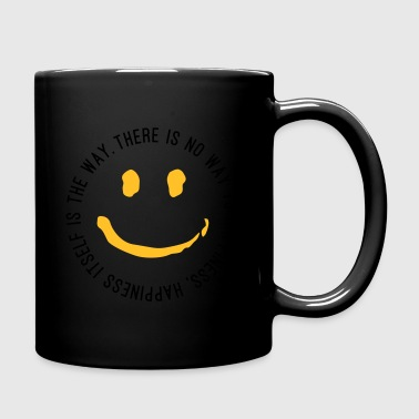 Way to Happiness - Tasse einfarbig