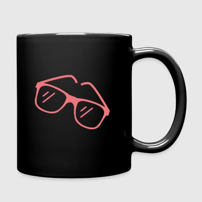 Red sunglasses - Full Colour Mug
