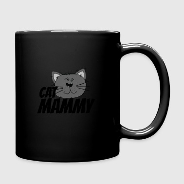cat mammy - Tasse einfarbig
