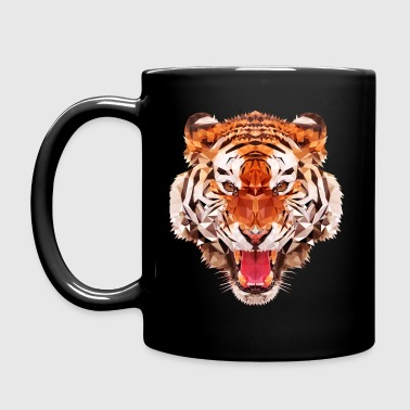 tiger low - Full Colour Mug